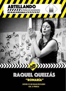 'Romaría'. Narración oral / 2016. Diseño cartel: Cristina Flaño
